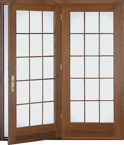 Hinged patio doors the siding company st louis for Single swing patio door