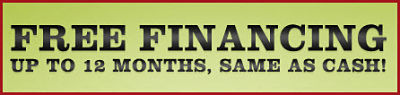 VIEW OUR FINANCING SPECIALS...CLICK HERE