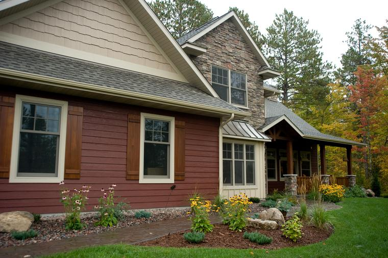 House Siding Lp Smartside Siding St Louis L The Siding Company