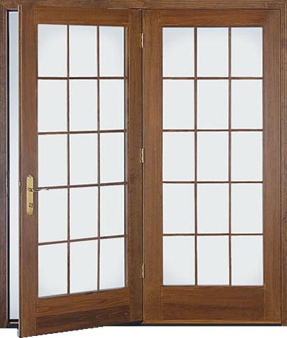 Hinged Patio Doors The Siding Company St Louis
